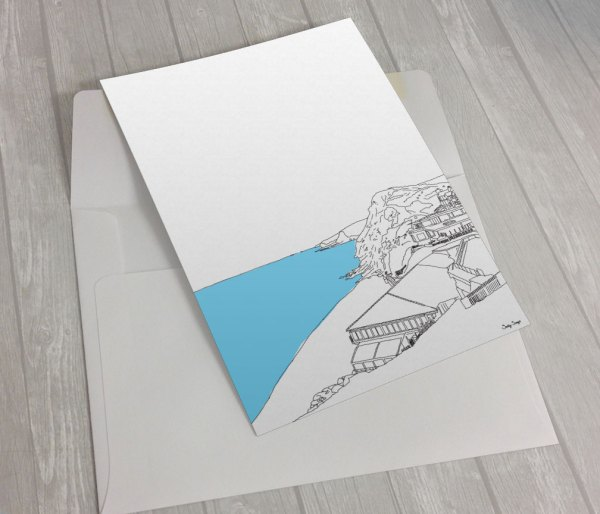 Watergate-Bay-Newquay Greeting Card