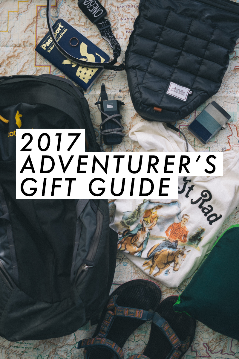 2017 adventurer's gift guide - perfect for the male or female explorer | Outdoor gifts | Travel gift ideas | saltyspaces.com