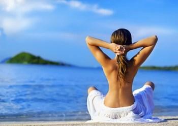 Estrógenos y Salud femenina - Meditación en la Playa