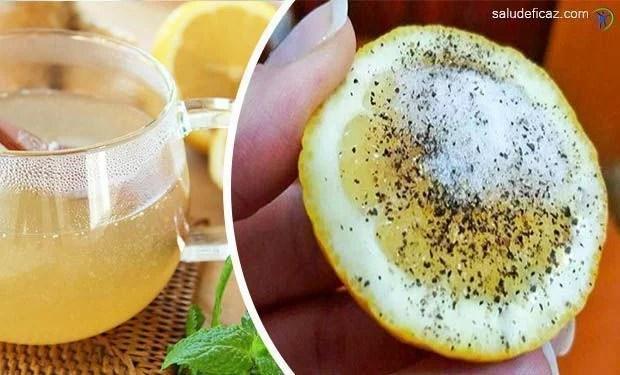 10 enfermedades que puedes curar con limon sal y pimienta..