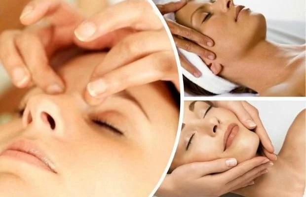4 Masajes faciales caseros y relajantes para reafirmar el rostro