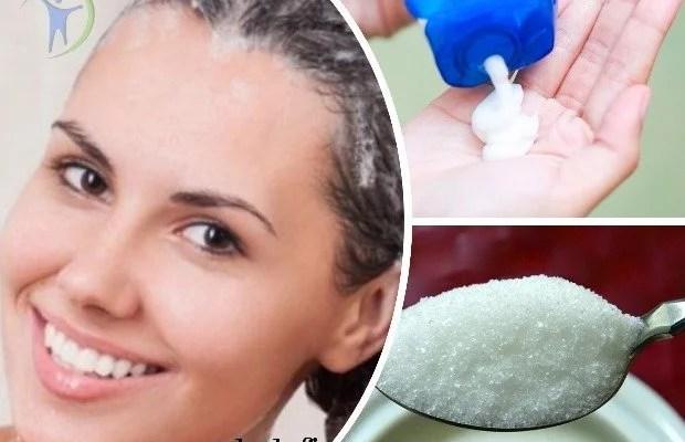 agregar azucar al shampoo