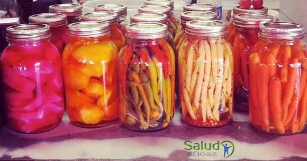 Alimentos fermentados para regenerar la flora intestinal