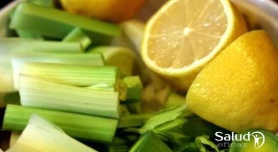 receta de apio y limon para diabeticos
