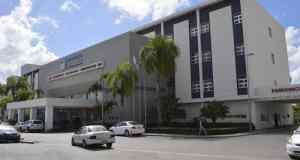 Fachada del hospital materno infantil Dr. Reynaldo Almánzar