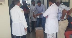 SNS aporta hospital Vinicio Calventi autoclave para esterilización instrumentos