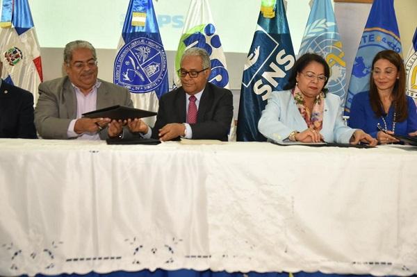 SNS lanza iniciativa HEARTS con el apoyo de la OMS/OPS, MS y UASD
