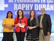 Cipesa entrega IV Premio Periodismo en Salud