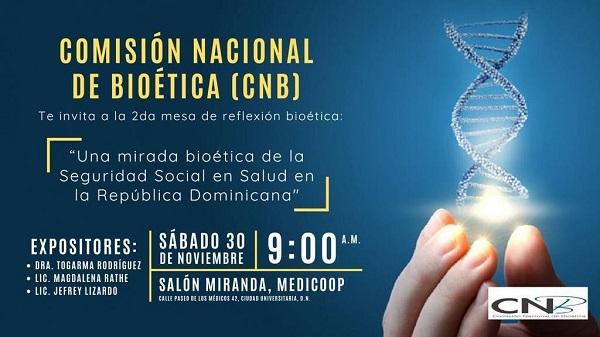 Comisión Nacional de Bioética realizará 2da. Mesa de Reflexión
