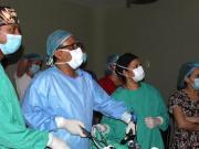 Especialistas del Ney Arias Lora realizan cirugía a paciente tenía 20 años sin ingerir alimentos sólidos