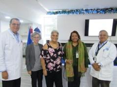 El oncológico Dr. Heriberto Pieter y el Dermatológico unidos en conferencia magistral