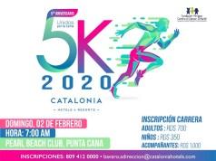 Todo listo para la 5ta. Edición de la Carrera Catalonia 5K