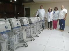 Hospital Moscoso Puello recibe nuevos aspiradores y sillas de ruedas