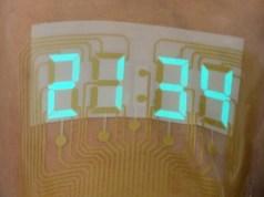 Pantallas digitales sobre la piel para monitorizar la salud de los pacientes