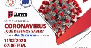 Médicos Familiares e Internistas harán charla sobre Coronavirus