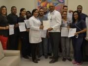 Comisión de Energía certifica personal de radioprotección del Reynaldo Almánzar