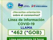 Autoridades disponen línea de llamadas para orientar a población sobre el coronavirus