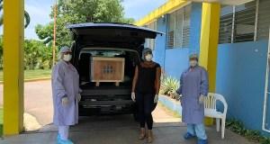 Hospital Desiderio Acosta recibe moderno equipo de química sanguínea