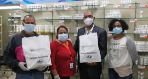 El IDCP dona 10,000 unidades de fosfato de cloroquina a Salud Pública para tratar pacientes con Covid-19