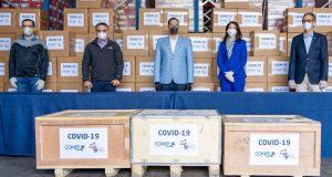 CONEP hace primera entrega de pruebas y equipos para luchar contra el COVID-19