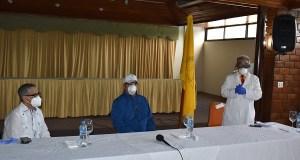 El CMD realiza conversatorio con Abinader acerca de la gestión sanitaria del COVID-19