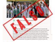 El Gautier desmiente fakenews sobre aporte de donación para beneficiar a los médicos del hospital