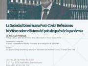Comisión de Bioética (CNB-RD) invita a reflexiones en tiempos de COVID-19
