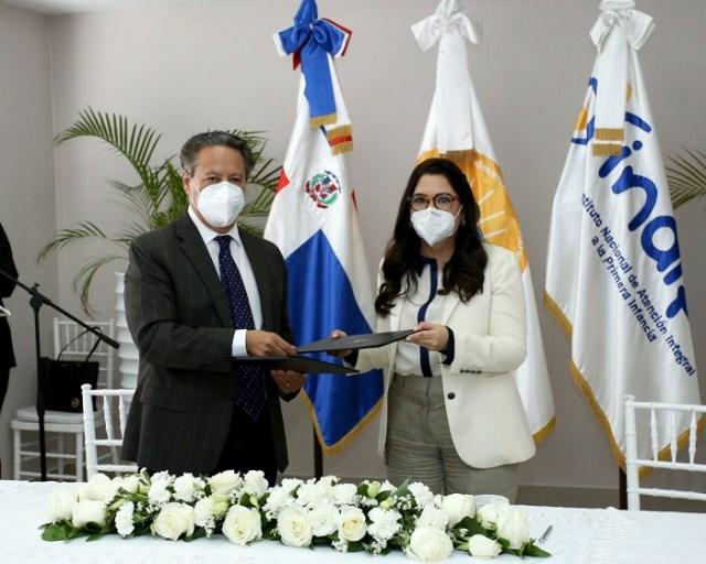 Pediatría e INAIPI ratifican acuerdo de cooperación para fortalecer atenciones en medio pandemia