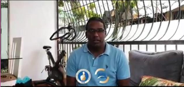 Agustín Burgos anuncia dio positivo al COVID-19