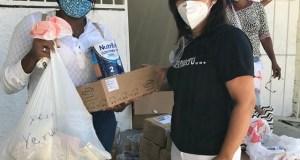 Fundación entrega donativos a pacientes fibrosis quística