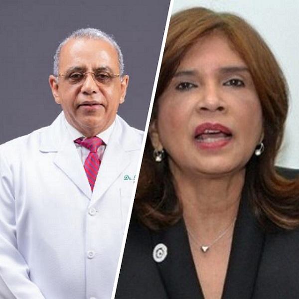 Plutarco Arias, ministro Salud Pública e Ivelisse Acosta viceministra Salud Colectiva | Salud News