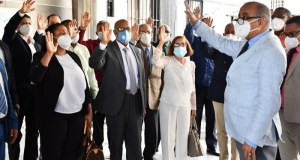 Salud Pública juramenta nuevos directores DPS
