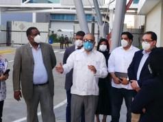 La Ciudad Sanitaria sin fecha de estreno recibe visita Plutarco Arias, próximo ministro de Salud