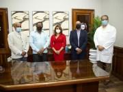 Juramentan al doctor José Ramírez al frente del INCART