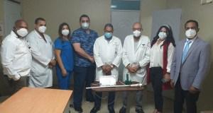 Donan equipo última generación a Neumología del Gautier
