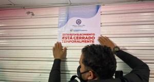 Autoridades cierran de manera temporal varios centros de diversión por incumplir disposiciones para prevenir Covid-19