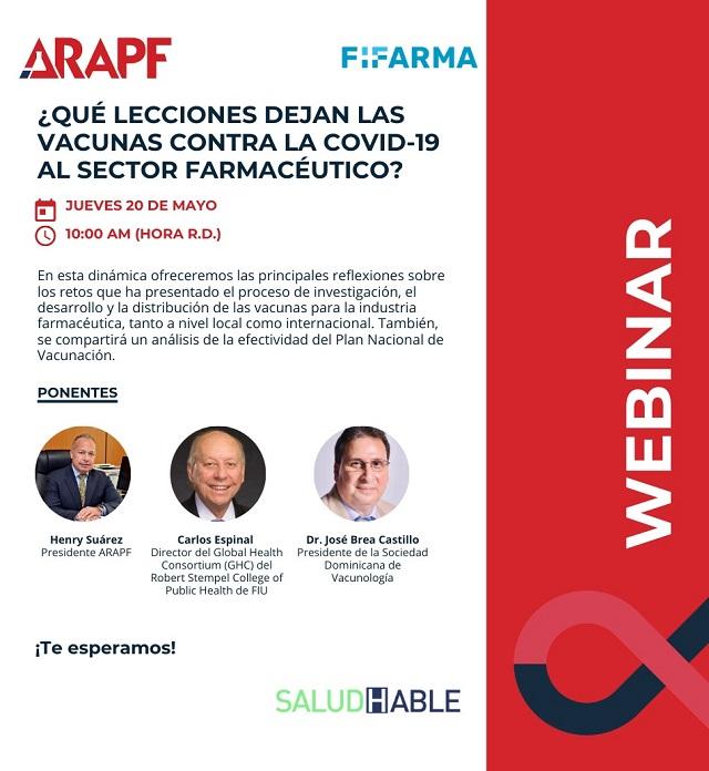 Analizarán las vacunas contra el Covid en webinar de Arapf