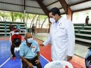 Ministro de Salud recorre provincias del Sur, valora de exitosa jornada especial de vacunación
