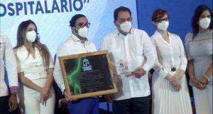 """El Materno Dr. Reynaldo Almánzar obtiene segundo lugar en el ranking del SNS al """"Mejor Desempeño Hospitalario"""""""