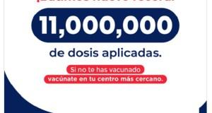República Dominicana ya supera las 11 millones de dosis aplicadas de vacunas Covid-19