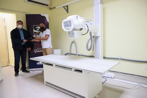 El SNS entrega equipos a seis centros de Santo Domingo