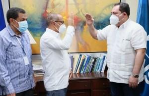Mario Lama juramenta nuevo director regional de Salud El Valle y en el traumatológico Profesor Juan Bosch