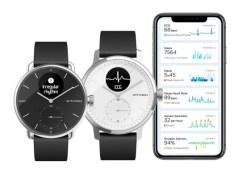 El Withings le planta cara al Apple Watch como reloj inteligente y obtiene aprobación de la FDA para detectar la fibrilación auricular y la apnea del sueño