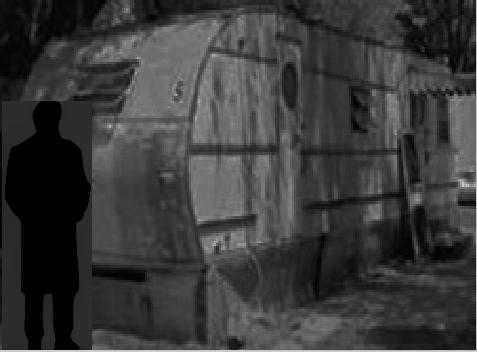 My trailer was coming apart.  Saluki Marooned.