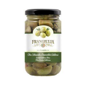 Olive calabresi schiacciate