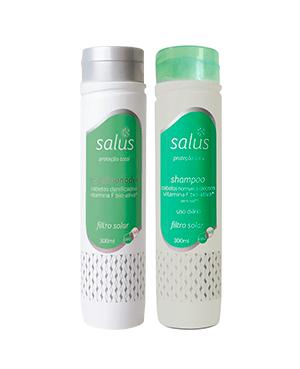 Kit Especial – Shampoo Cabelo Oleoso e Condicionador Proteção Total UVA e UVB