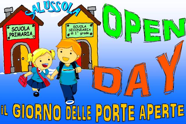 """Sabato 14 dicembre sarà il giorno dell """" Open day """" per le scuole Salussolesi"""