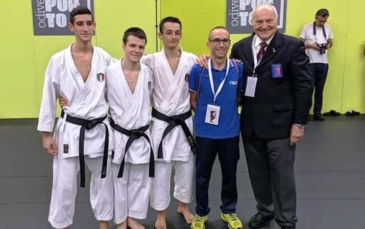 Vittorio Prin Clari medaglia d'argento mondiale alla World Shotokan Karate Association