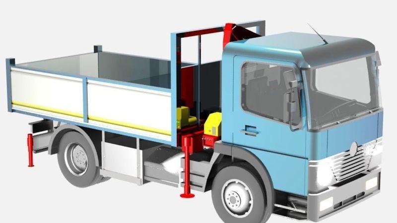 La Nuova Vib si è aggiudicata l'autocarro Bonetti FX 100/35 per 13 mila euro