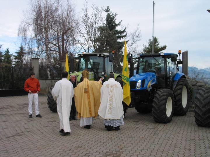 Foto / Il 5 dicembre di dieci anni fa la Festa del Ringraziamento si tenne a Salussola Monte